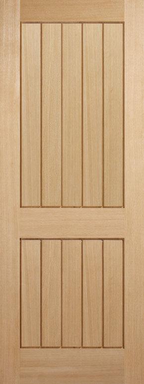 Mexicano 2 Panel Oak