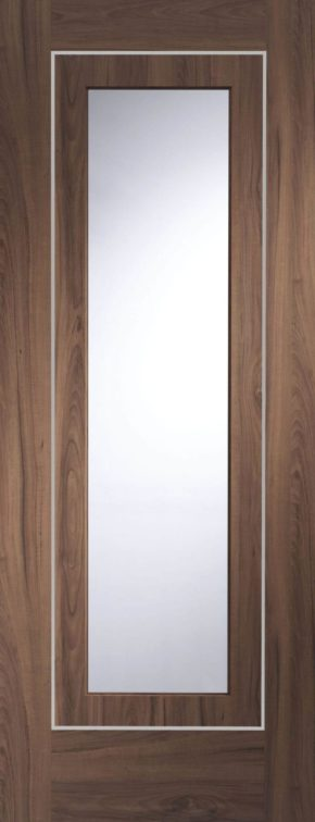 Varese Walnut with Clear Glass