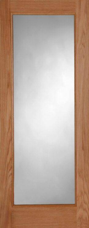 Pattern 10 Oak Unglazed External Door