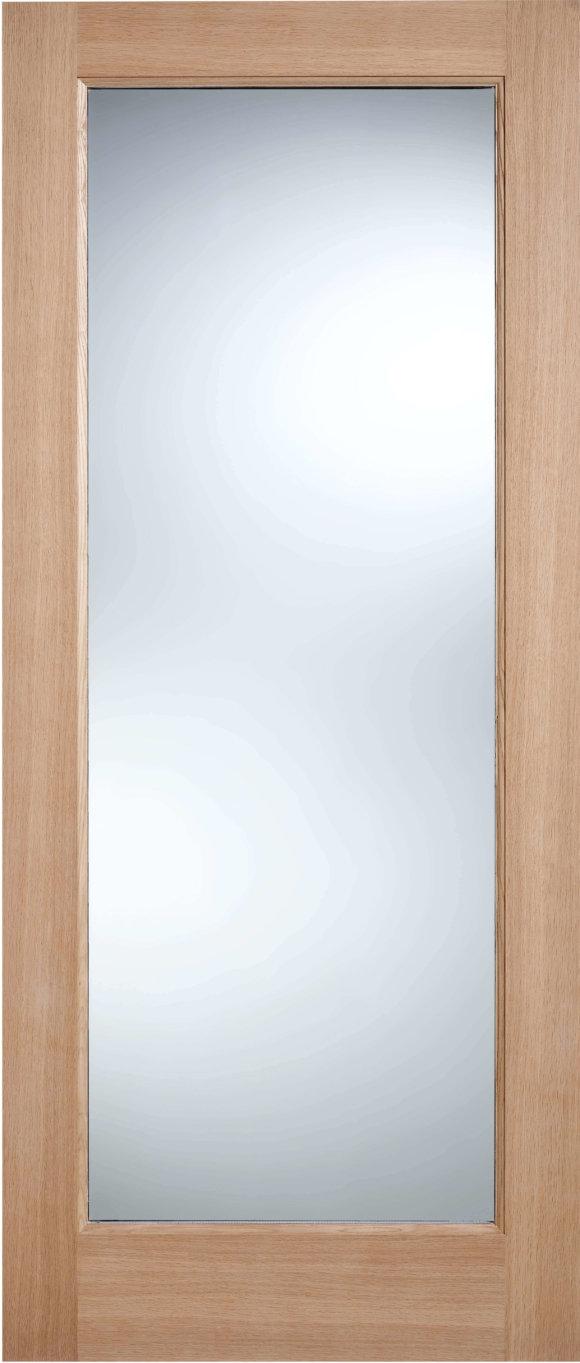 Oak Pattern 10 Clear Glass