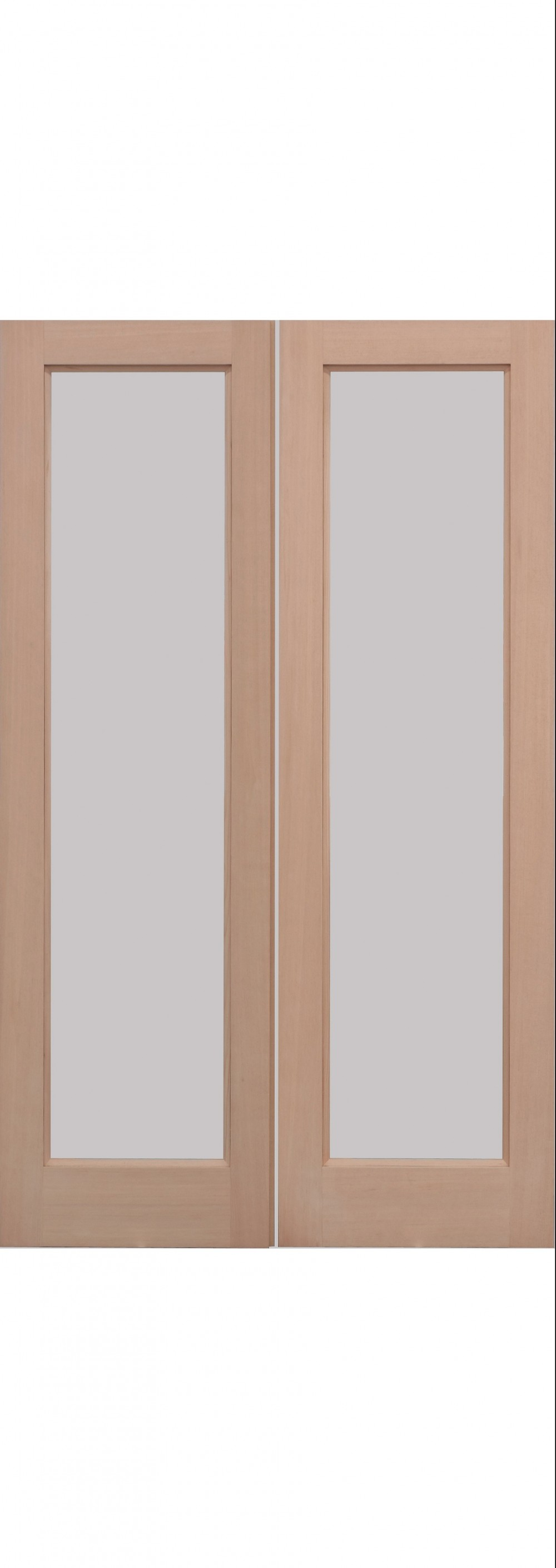 Hemlock pattern 20 external door pair trading doors for Design patterns of doors