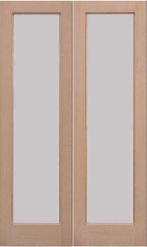 Hemlock Pattern 20 External Door Pair