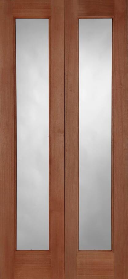 Pattern 20 Hardwood External Pair 44mm Trading Doors