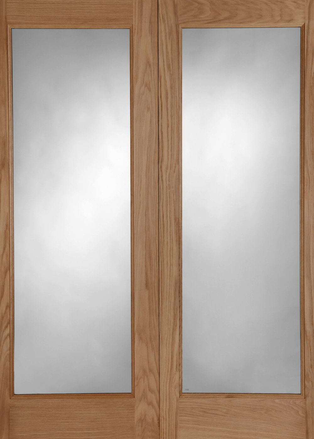 Pattern 20 Oak Double Glazed Pair External Doors (44mm) - Trading ...