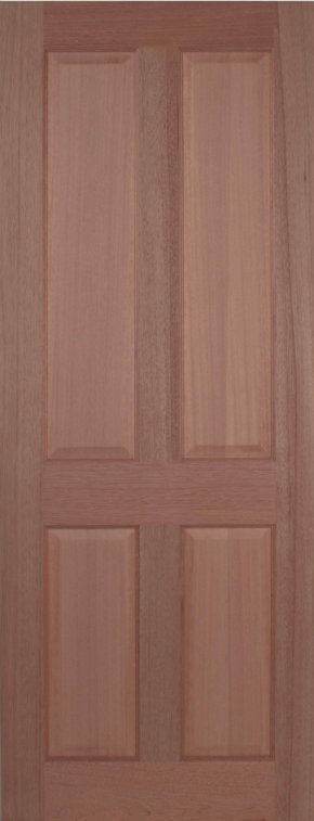 Regency 4 Panel Hardwood