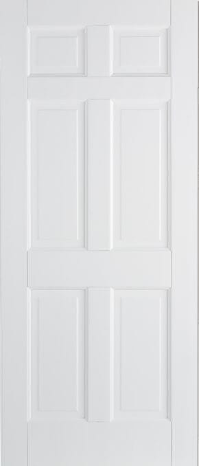 Solid White Primed Fire Doors