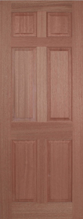 Regency 6 Panel Hardwood Internal