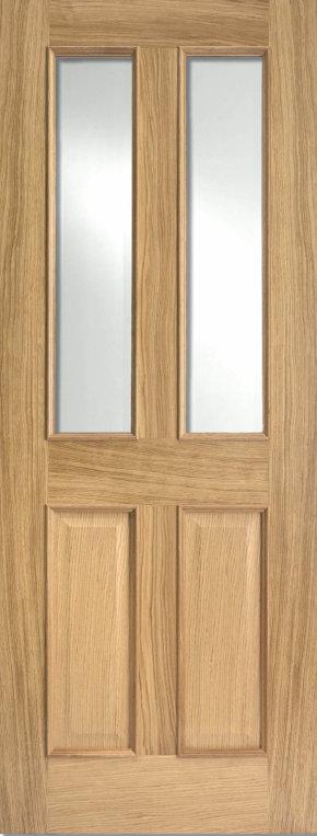 Richmond Oak RM2S Clear Glazed
