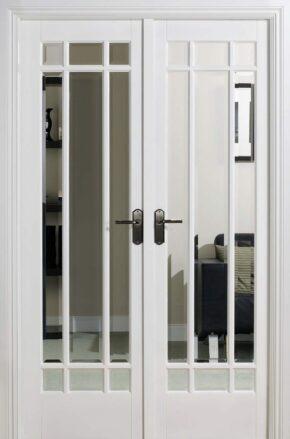 White Primed Manhattan W4 Room Divider