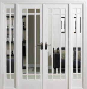 White Primed Manhattan W6 Room Divider