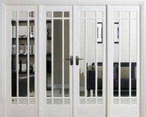 White Primed Manhattan W8 Room Divider