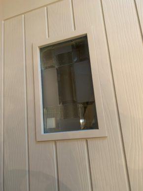 Sage door new glass 2