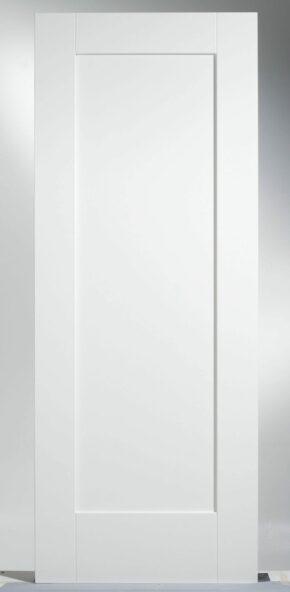 Shaker 1 Panel White Primed