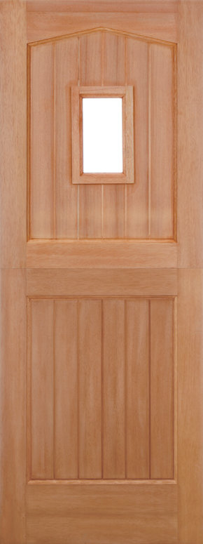 Stable 1 Light Barnburgh Dowelled Hardwood Door