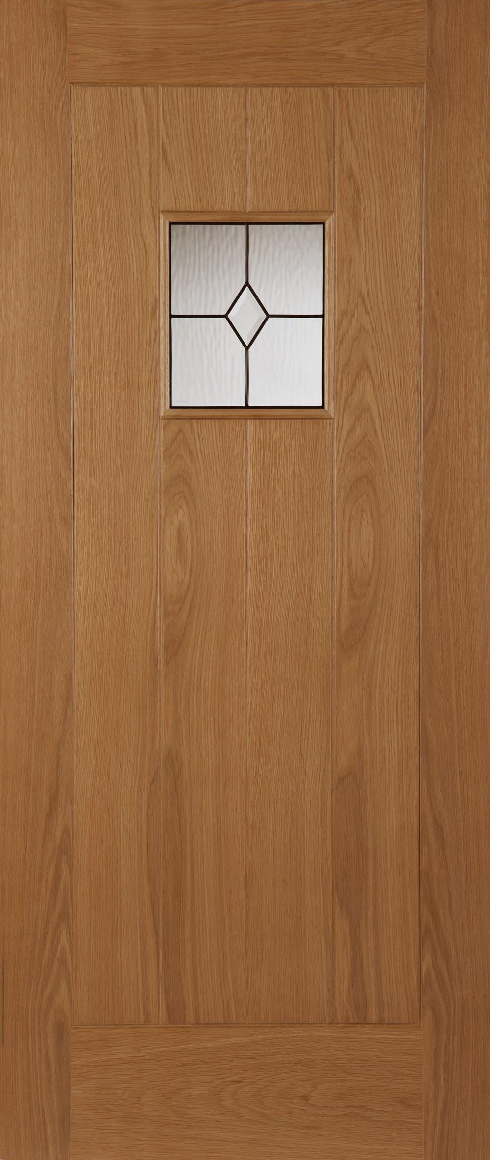 Thames oak triple glazed external door trading doors for Triple glazed doors