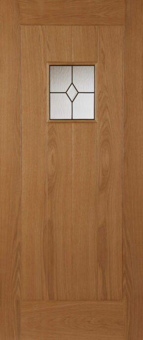 Oak Thames Triple Glazed External Door