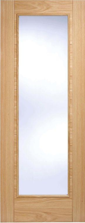 Vancouver Oak Pattern 10 Clear Glazed