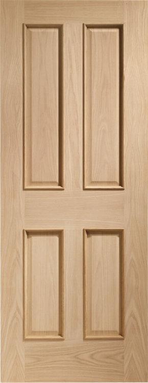 Victorian 4 Panel Oak RM