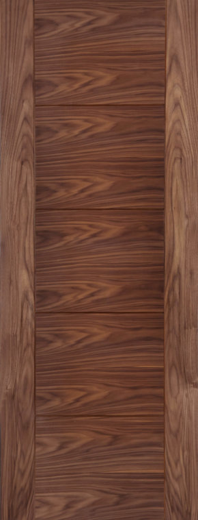 Iseo Walnut Crown Cut Pre-finished Door