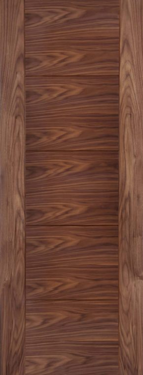 Iseo Walnut Crown Cut Pre-finished Door
