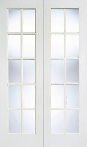 White Primed GTP SA Glazed Pair