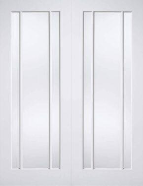 White Primed Lincoln Glazed Pair
