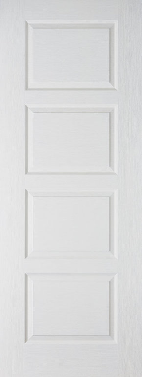 Textured Contemporary White Primed