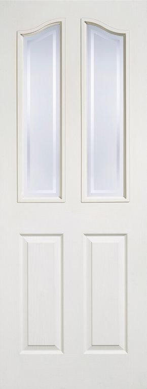 Mayfair 2P 2Lite Glazed White Moulded