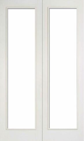 White Primed Pattern 20 Glazed Pair