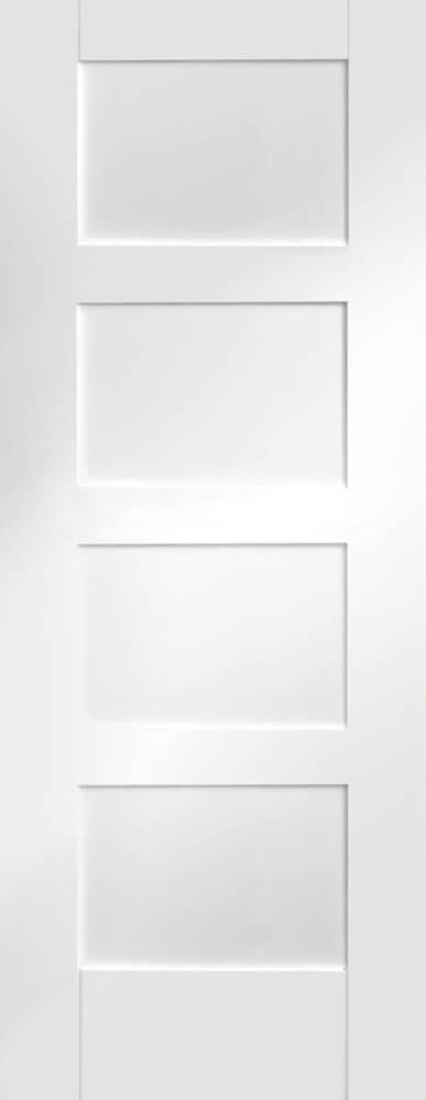 White Primed Shaker
