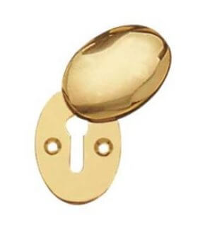 Oval Covered Escutcheon